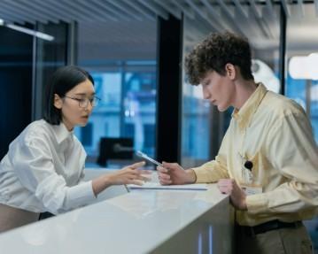 Lettre de motivation réceptionniste: exemples débutant/qualifié